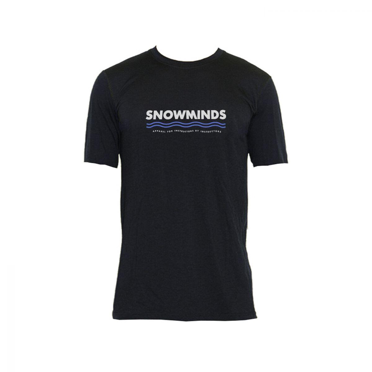Merino Wool Tee - Snowminds - Grey - Unisex