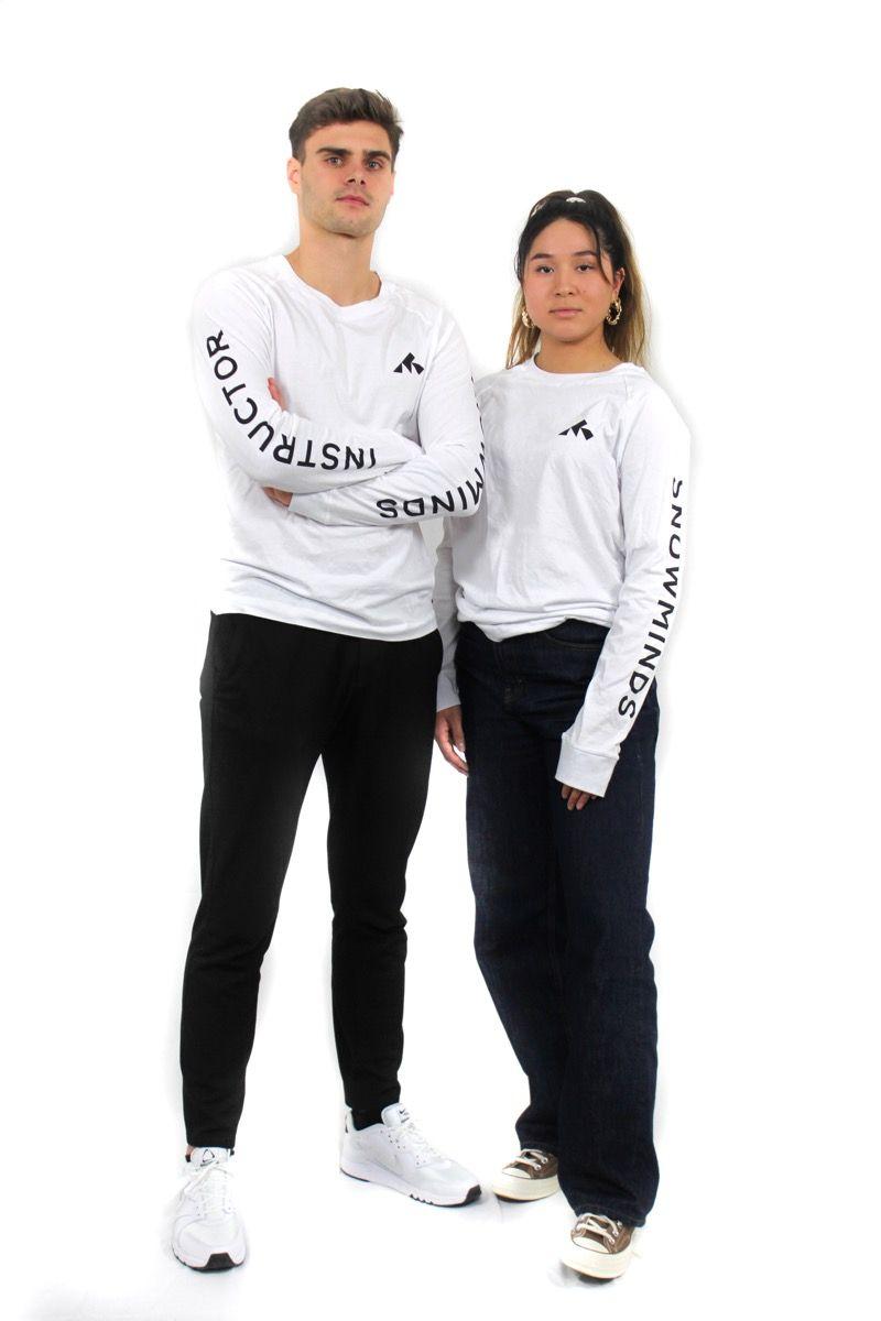 Ski t-shirt - Yotei Tee Unisex - White