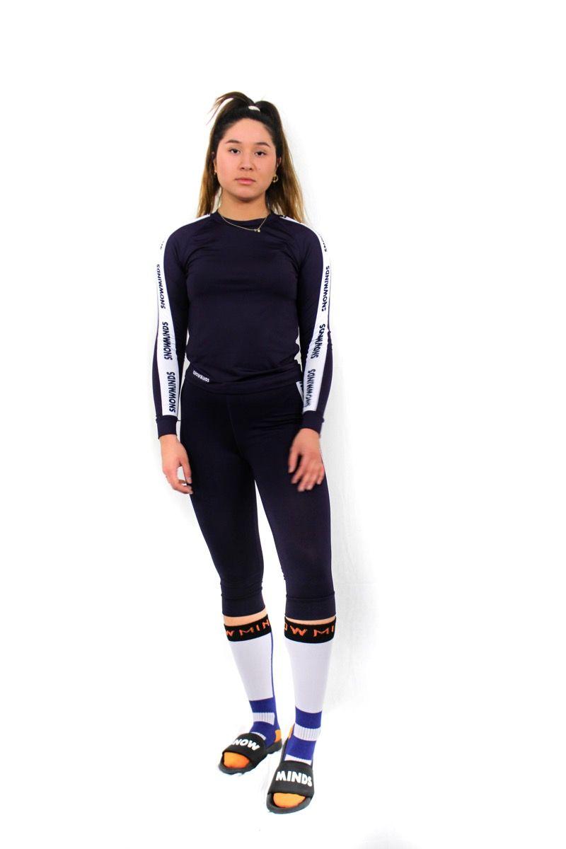 Hokkaido Ski Underwear Women - Purple