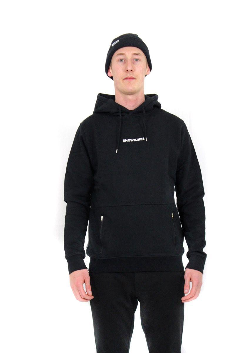Snowminds Hoodie - Black - Unisex