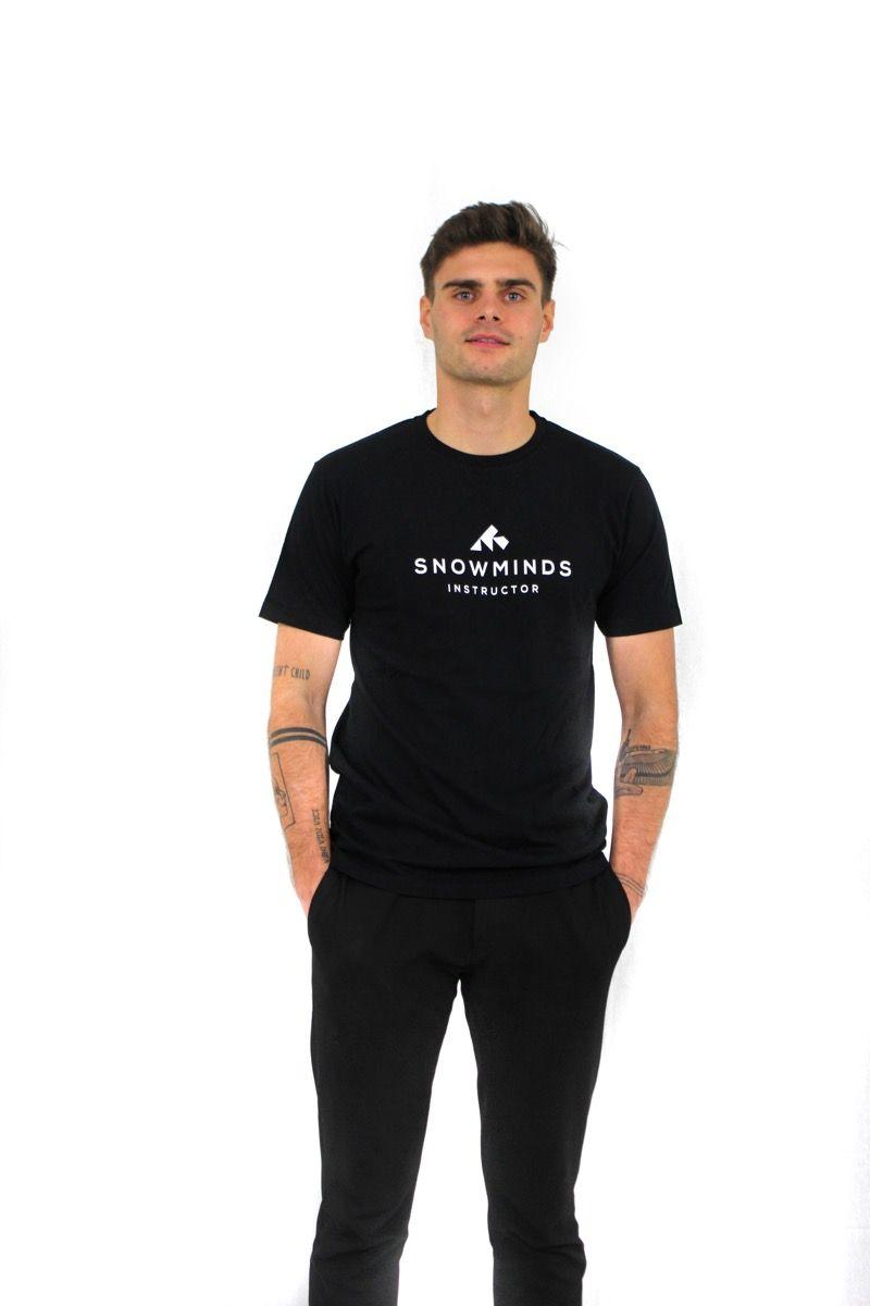 Ski t-shirt - Instructor Tee - Black - M